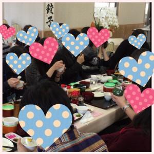 宇都宮餃子・昼食中