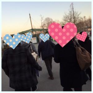 東武どうぶつ公園でグループ散策