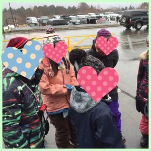 スキーのグループ