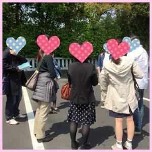 三嶋大社でグループ散策