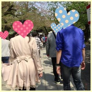 三嶋大社でのカップル